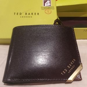 New Ted Baker London Korning Leather Men's Wallet